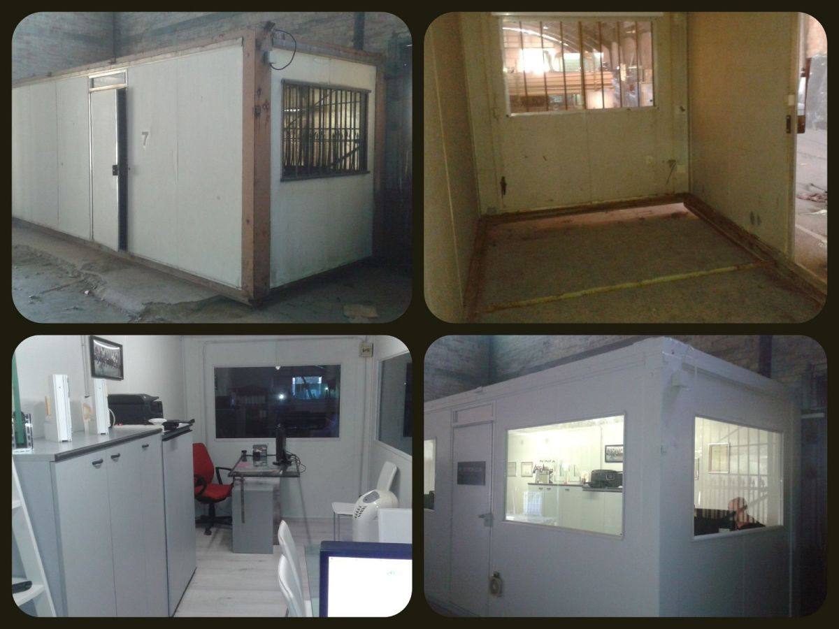 Construction and container refurbishment, mobile homes, caravans