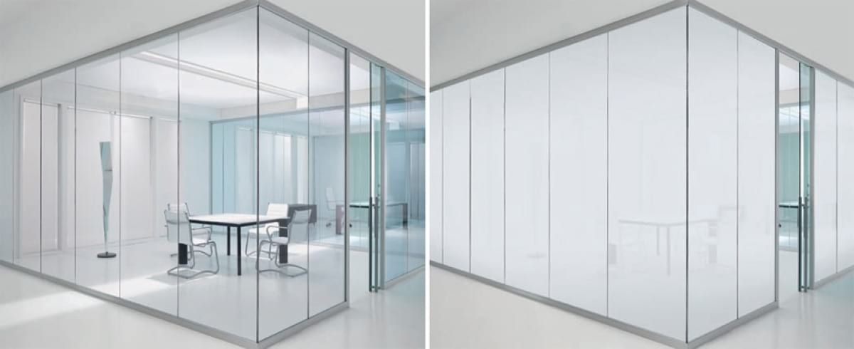 Glass dividers and boxes