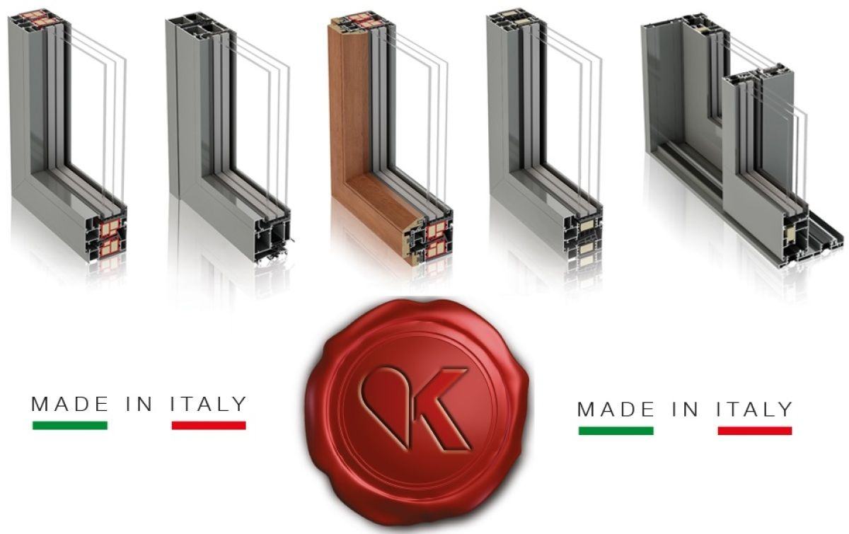 Aluminum fixtures made in Italy
