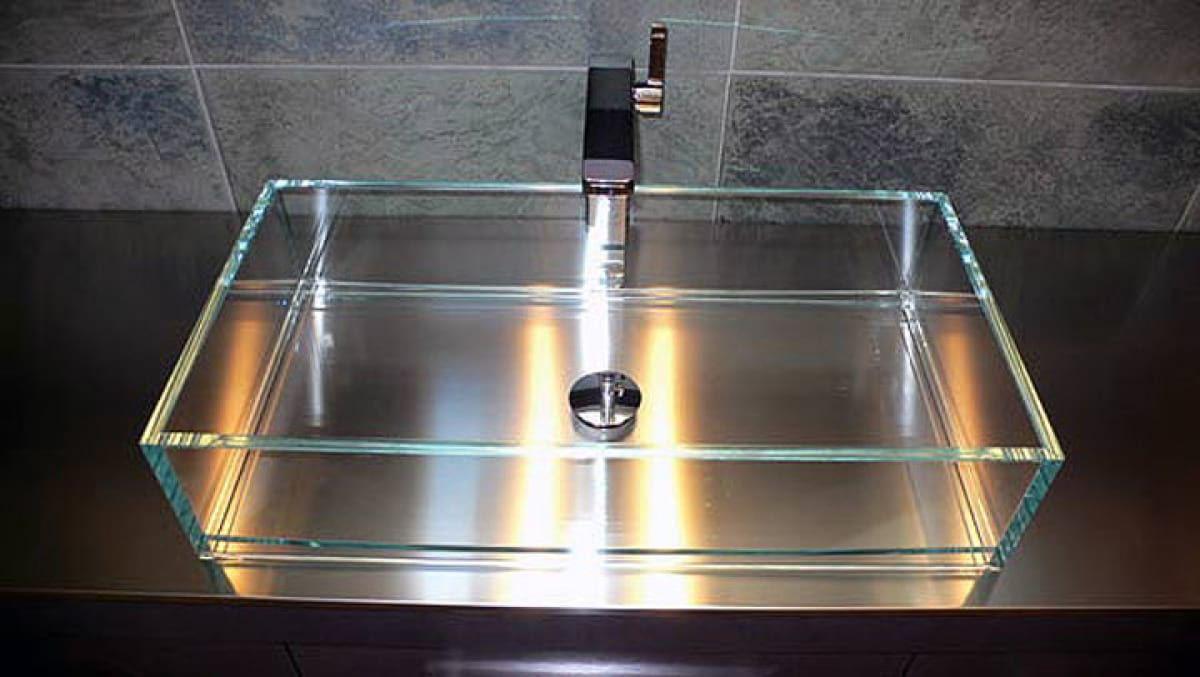 Crystal washbasin