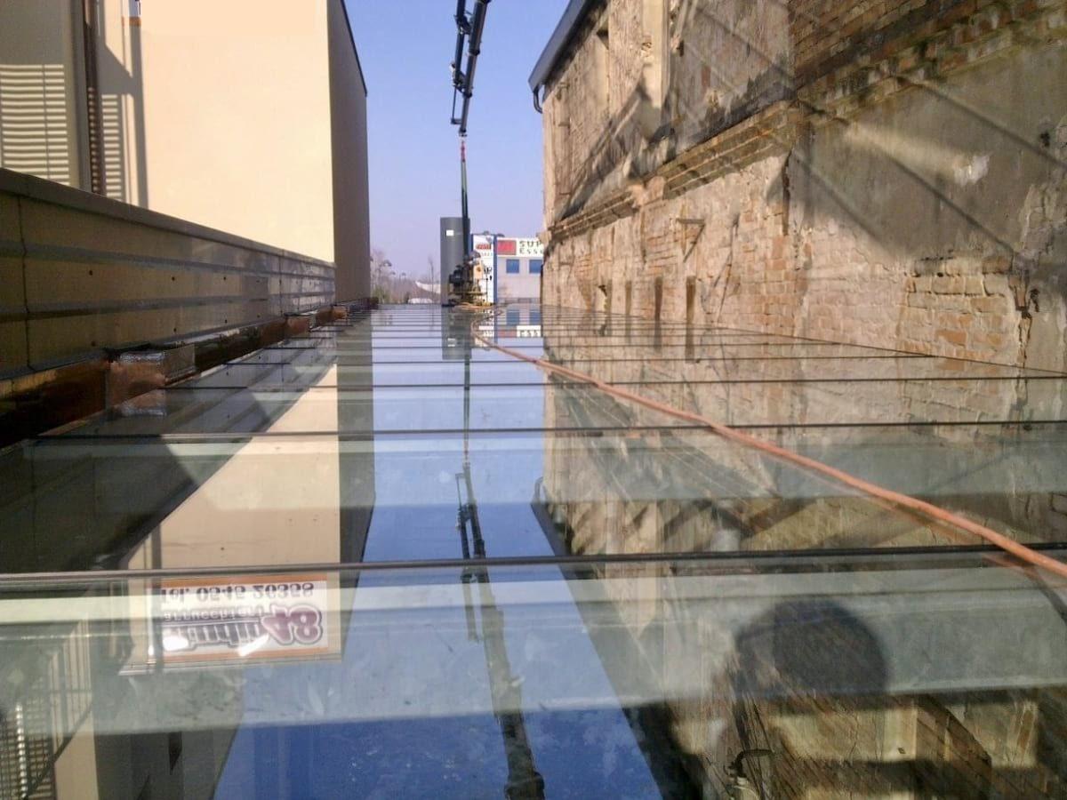 Glass Walkable Flooring